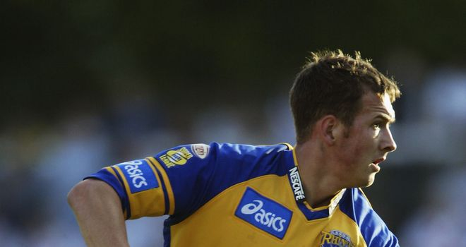 Danny McGuire: Was left out of Leeds' 2003 Challenge Cup final by Powell