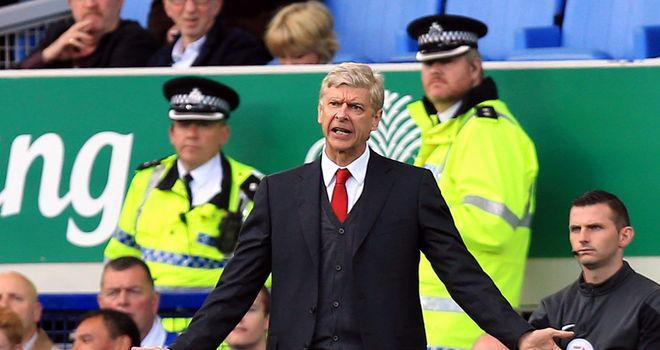 Arsene Wenger: Happy with Arsenal's comeback at Everton