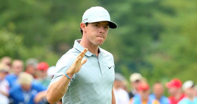 Rory McIlroy: On course for another major victory