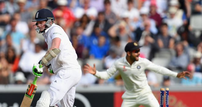 Robson: bowled not playing a shot by Varun Aaron