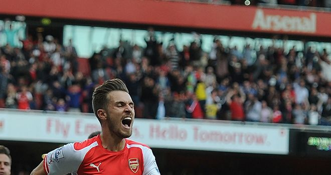 Aaron Ramsey: Scored Arsenal's winner in 2-1 win over Crystal Palace