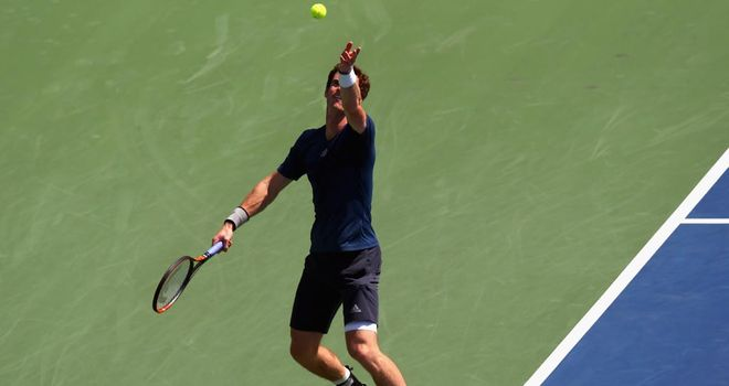Andy Murray: Was given a free pass into the last eight of the Rogers Cup