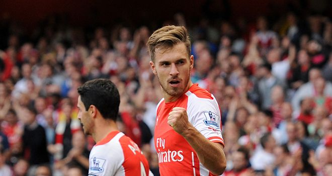 Aaron Ramsey: Confident Arsenal will not be bullied