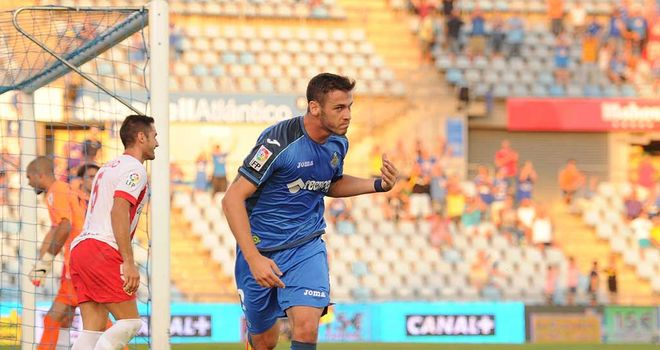 Alvaro Vazquez was the match-winner for Getafe