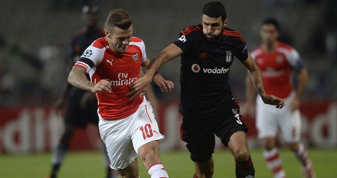 Jack Wilshere: Taking nothing for granted against Besiktas