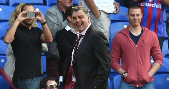 Sam Allardyce: Delighted with West Ham's 3-1 win