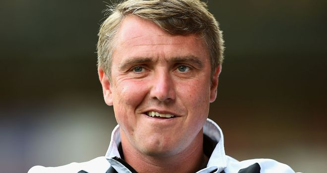 Lee Clark: Snapped up Luke Armstrong