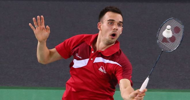 Chris Adcock: Will represent Nottingham in the new National Badminton League which will be shown live on Sky Sports