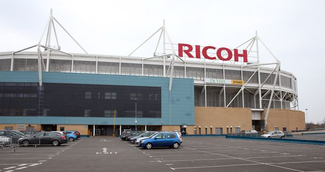 The Ricoh Arena: Coventry are set to return home