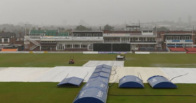 Grace Road: Saw no action on Sunday as rain wiped out several fixtures