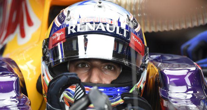 Daniel Ricciardo: Lines up fifth in Belgium