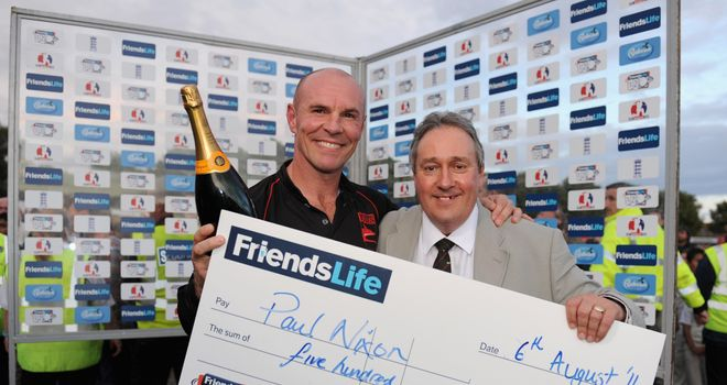 Mike Siddall: Spent four years at the helm at Leicestershire