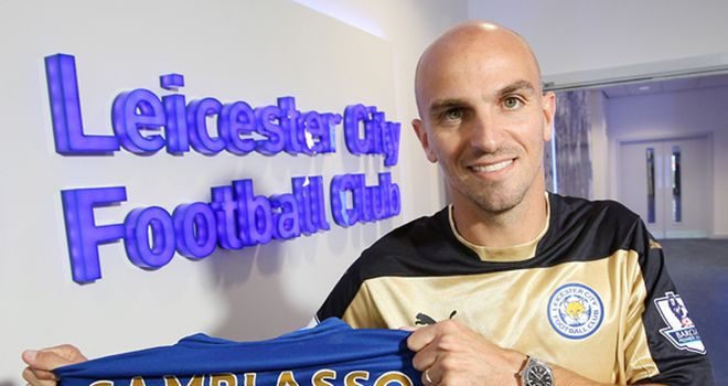 Esteban Cambiasso: Happy to be a Leicester player (photo credit LCFC/Plumb Images)