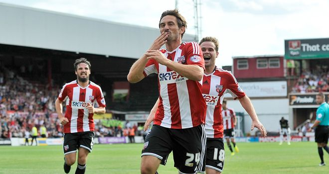 Brentford: Secured first win of the season at Blackpool