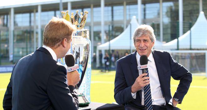 Manuel Pellegrini: Interviewed by Sky Sports' Ed Chamberlin on Wednesday