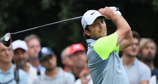 Francesco Molinari: Shares the lead after the opening round in Turin