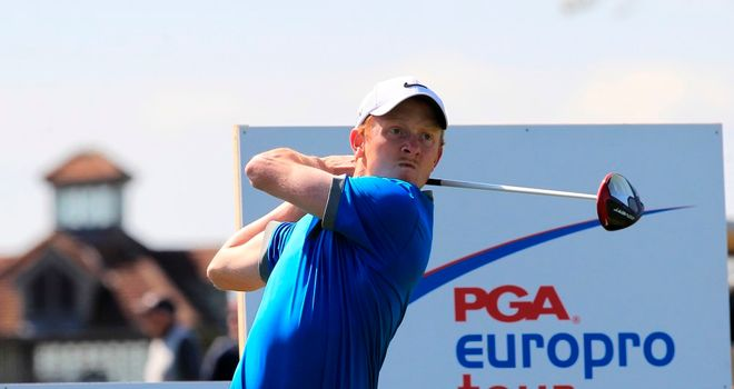Greg Payne: Hoping to make a name for himself playing on the EuroPro Tour