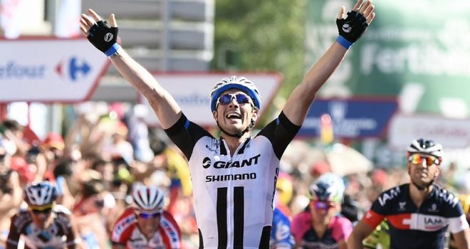 John Degenkolb claimed the sixth Vuelta stage win of his career