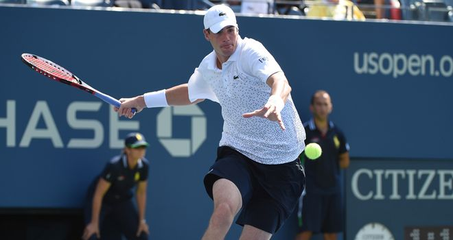 John Isner: Made it through to second round of US Open behind huge serve