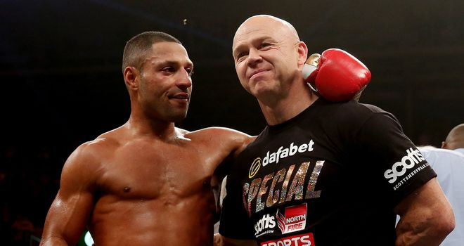 Kell Brook and Dominic Ingle: Have worked hard in preparation for the fighter's world title shot