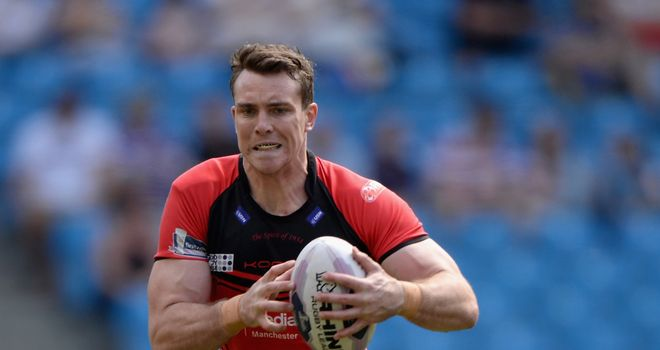 Matty Ashurst: To swap Salford for Wakefield in 2015