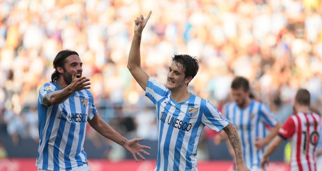 Luis Alberto: Netted the winner for Malaga against Athletic Bilbao
