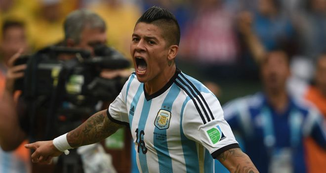 Marcos Rojo: Being linked with sides across Europe