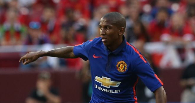 Ashley Young: Has been trying his hand at wing-back