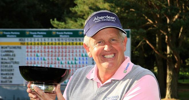 Colin Montgomerie: Back-to-back wins in Travis Perkins Masters