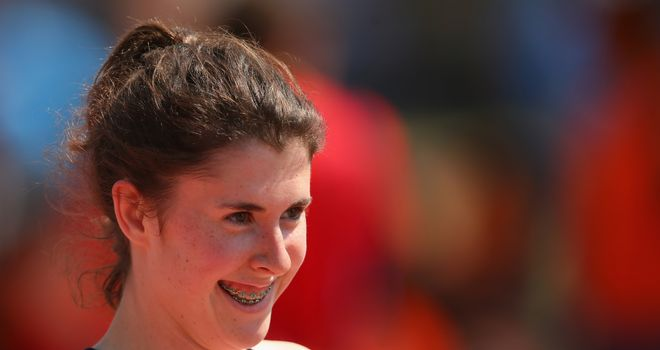 Olivia Breen: Won her second medal at the IPC European Championships