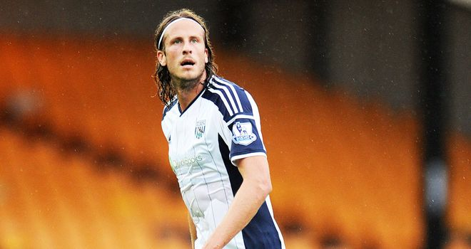 Jonas Olsson: West Brom defender reckons the team have to perform better in domestic cups