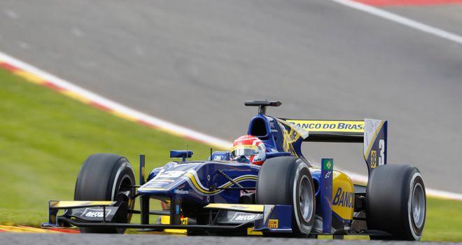Felipe Nasr: Winner in Belgium