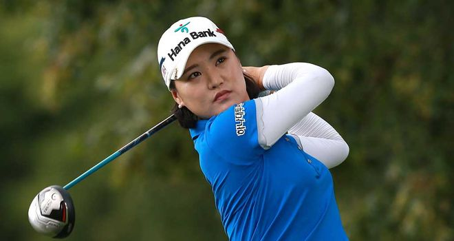 So Yeon Ryu: Leads by five in London