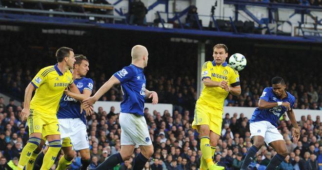 Samuel Eto'o: Scored on his debut for Everton