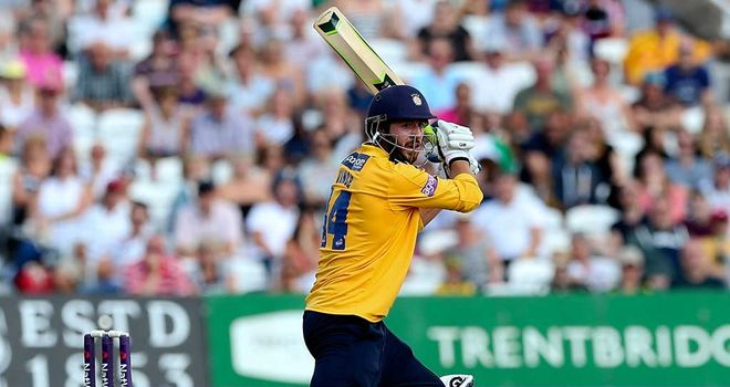 James Vince: Captain leads the way for Hampshire