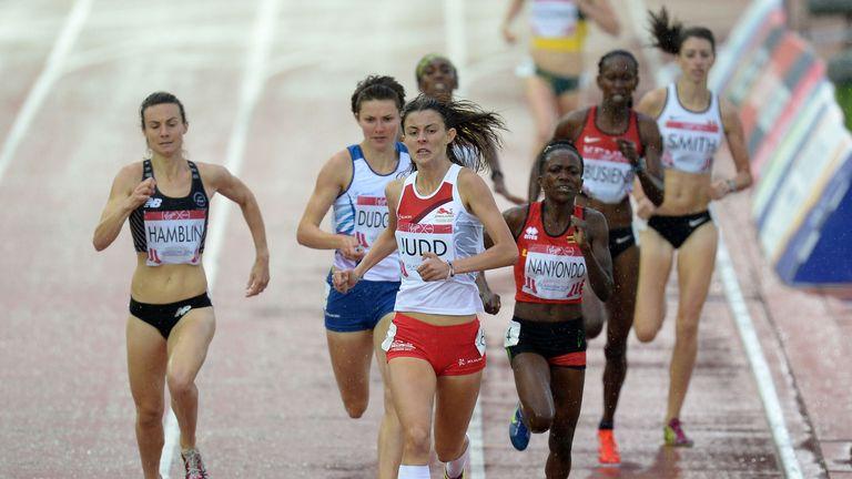 England's Jessica Judd