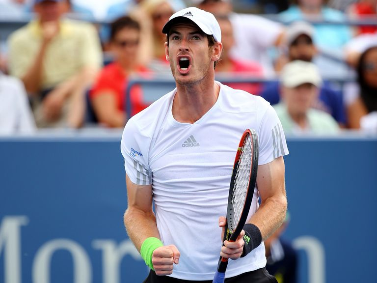 Andy Murray: Needed four sets to beat Russian Andrey Kuznetsov at the US Open