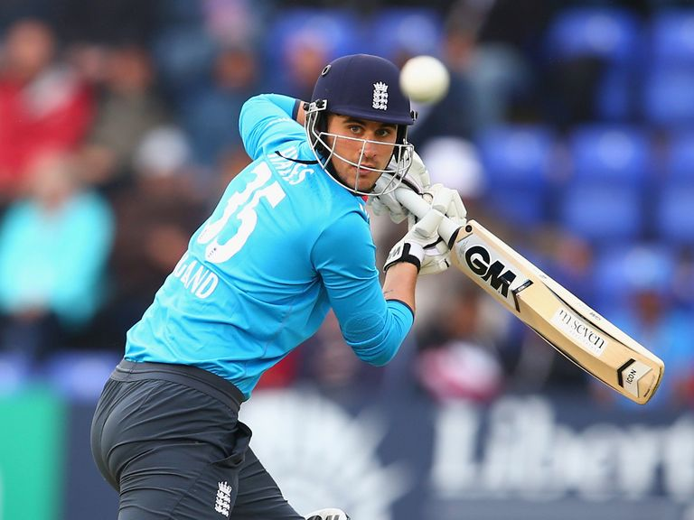 Alex Hales: Looking to forge a partnership with Alastair Cook