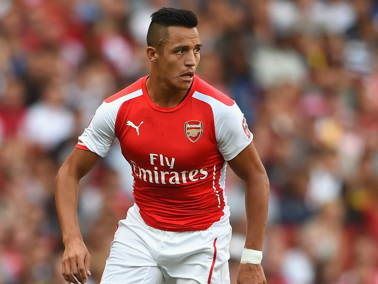 Alexis Sanchez: Backed by Ed Chamberlin to make a big impact for Arsenal