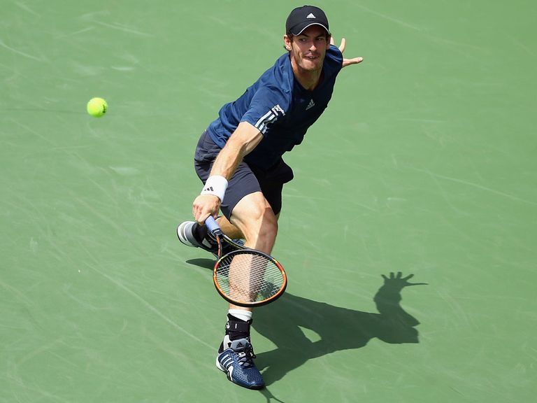 Andy Murray: Survived a tough battle against John Isner