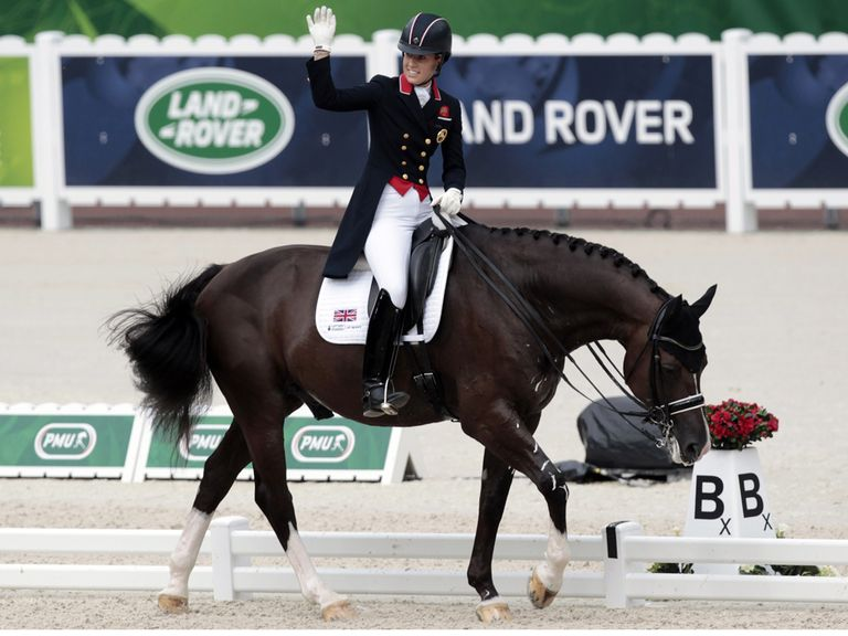 Charlotte Dujardin and wonderhorse Valegro claim gold