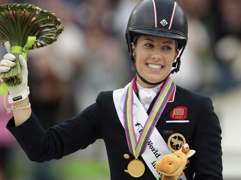 Charlotte Dujardin collects another gold medal