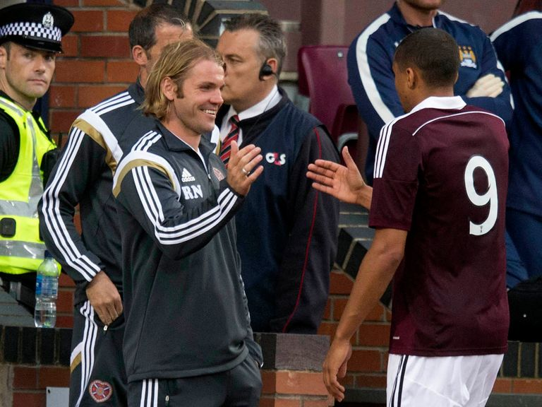 Hearts travel to Rangers on Sunday