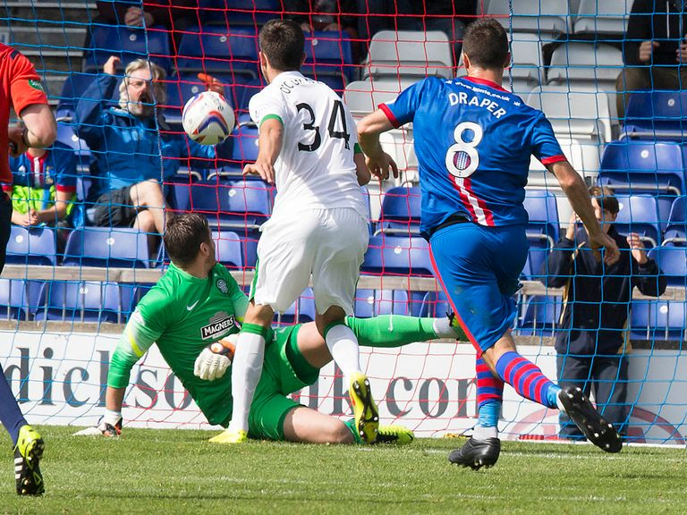 This own goal gives Inverness victory against Celtic