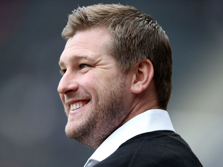 MK Dons manager Karl Robinson can finally win promotion