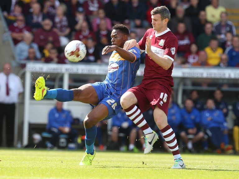 Northampton struck late to draw with Shrewsbury