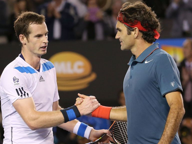 Andy Murray: Beaten by Federer
