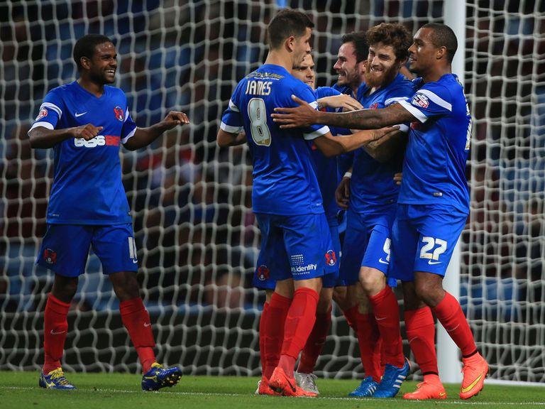 Leyton Orient's Romain Vincelot netted a last-gasp winning goal