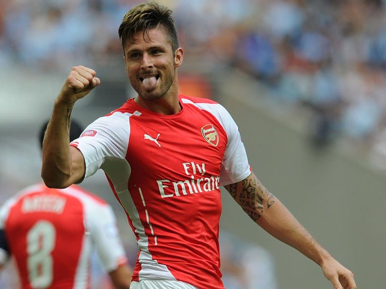 Olivier Giroud: Backed by us for the top goalscorer prize
