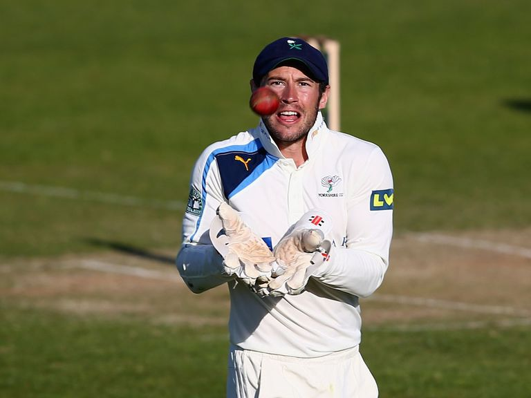Andrew Hodd helped guide Yorkshire to victory
